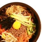 Hot stone pot Bibimbap