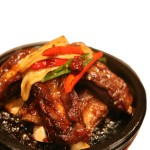 steamed spicy galbi